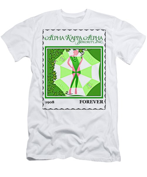 Alpha Kappa Alpha Men's T-Shirt (Athletic Fit)