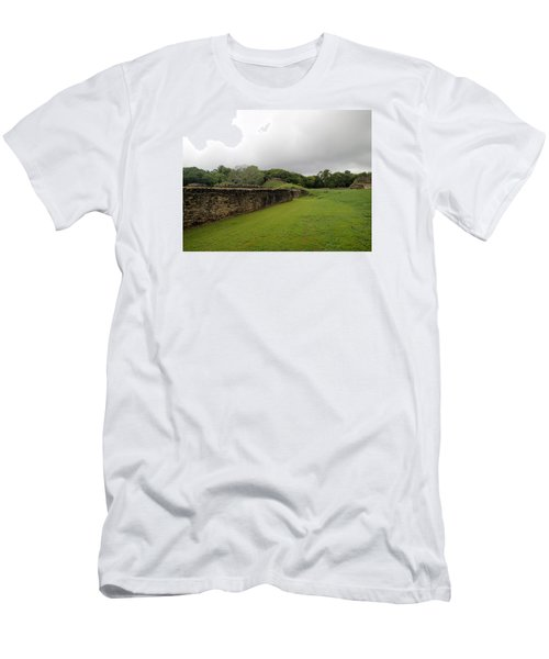 Men's T-Shirt (Slim Fit) featuring the photograph Altun Ha #1 by Lois Lepisto