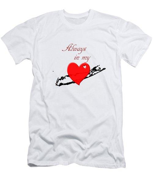 Always In My Heart Li Men's T-Shirt (Athletic Fit)
