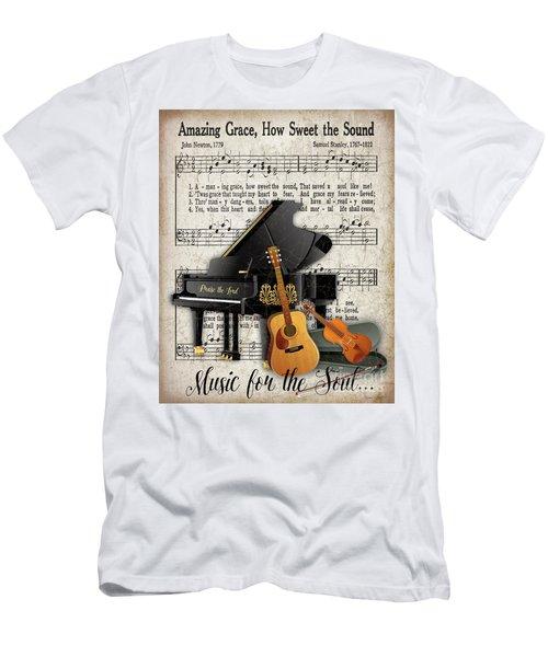 Amazing Grace-jp3513 Men's T-Shirt (Athletic Fit)