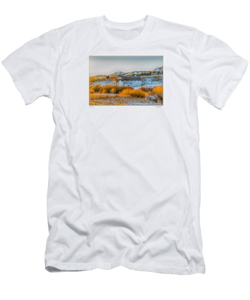 Amber Grass Men's T-Shirt (Slim Fit) by R Thomas Berner