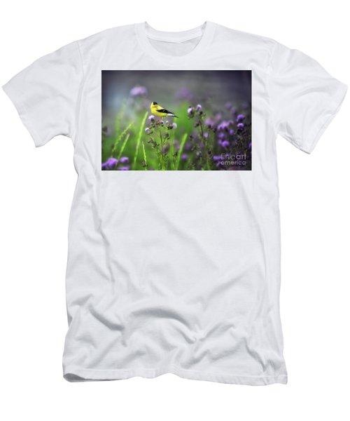 Amercian Goldfinch Men's T-Shirt (Athletic Fit)