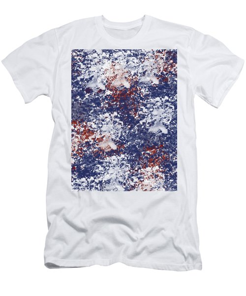 America Watercolor Men's T-Shirt (Athletic Fit)