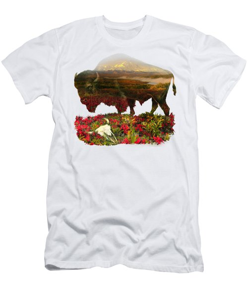 American Buffalo Men's T-Shirt (Athletic Fit)