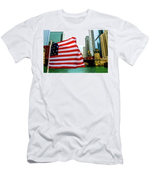 American Chi Men's T-Shirt (Athletic Fit)