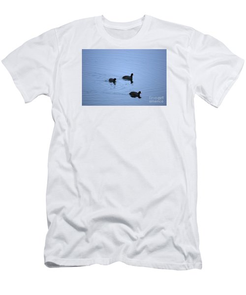 American Coots 20120316_39a Men's T-Shirt (Athletic Fit)