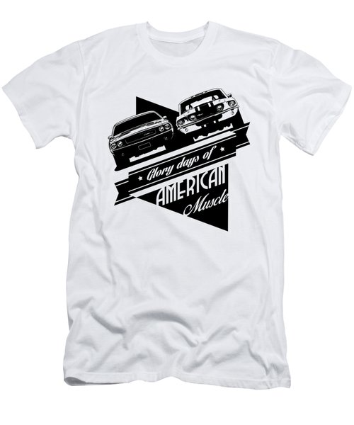 American Muscle Cars Men's T-Shirt (Athletic Fit)