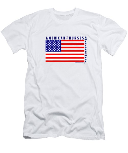 American Nurses Men's T-Shirt (Athletic Fit)