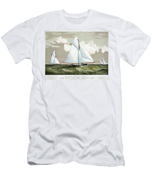 Americas Cup, 1881 Men's T-Shirt (Athletic Fit)