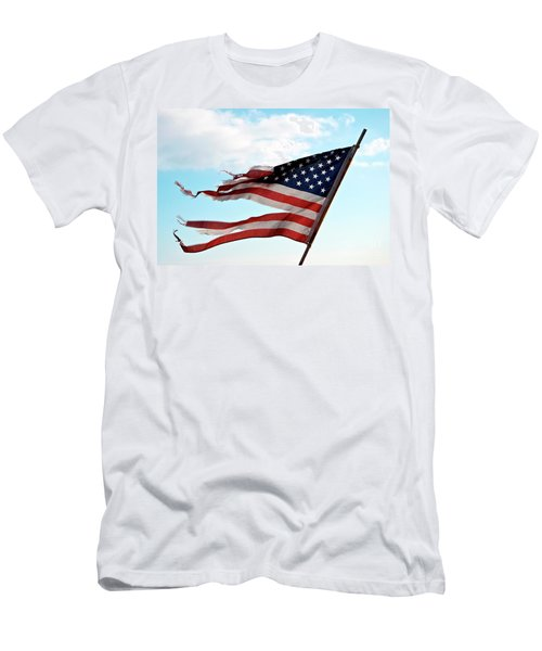 America's Liberty Prevails Men's T-Shirt (Athletic Fit)