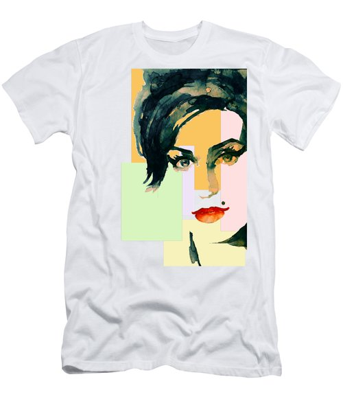 Amy... Love Men's T-Shirt (Slim Fit) by Laur Iduc