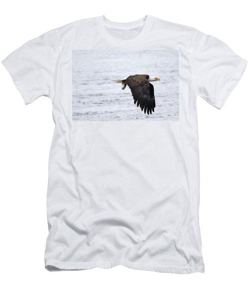 An Eagles Catch 11 Men's T-Shirt (Slim Fit) by Brook Burling