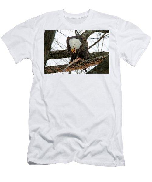 An Eagles Meal Men's T-Shirt (Slim Fit) by Brook Burling