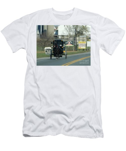 An Evening Ride Men's T-Shirt (Athletic Fit)