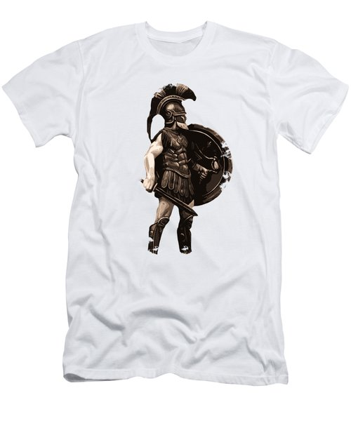 Ancient Greek Hoplite Men's T-Shirt (Athletic Fit)