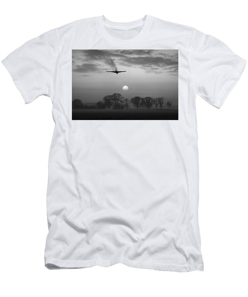 And Finally Black And White Version Men's T-Shirt (Athletic Fit)