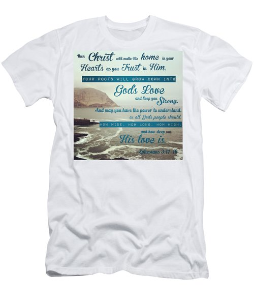 And This Is God's Plan: Both Gentiles Men's T-Shirt (Athletic Fit)