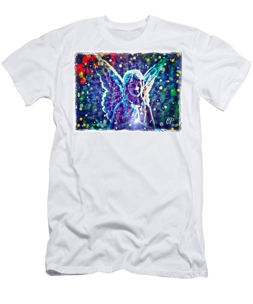 Angel In The Snow Men's T-Shirt (Athletic Fit)