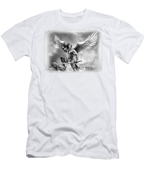 Angel Warrior Men's T-Shirt (Athletic Fit)