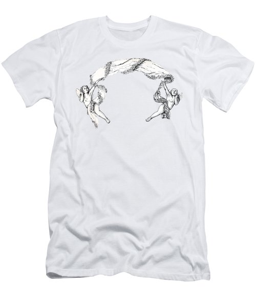 Angels On High Men's T-Shirt (Athletic Fit)