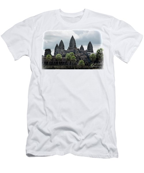 Angkor Wat Focus  Men's T-Shirt (Athletic Fit)