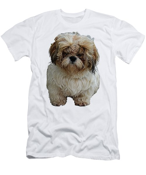 Angry Dog I Men's T-Shirt (Athletic Fit)