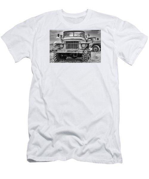 Angry Grandpa Men's T-Shirt (Slim Fit) by Tgchan