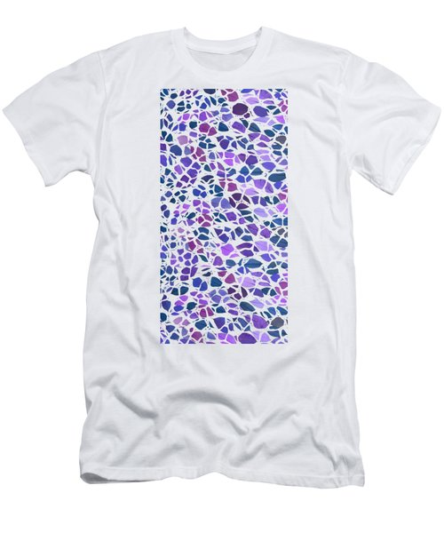 Animal Leaves Purple Phone Case Men's T-Shirt (Athletic Fit)