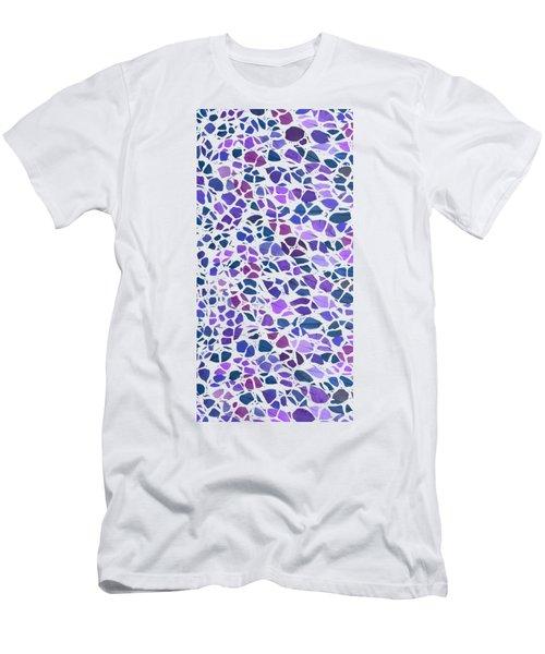 Animal Leaves Purple Phone Case Men's T-Shirt (Athletic Fit)