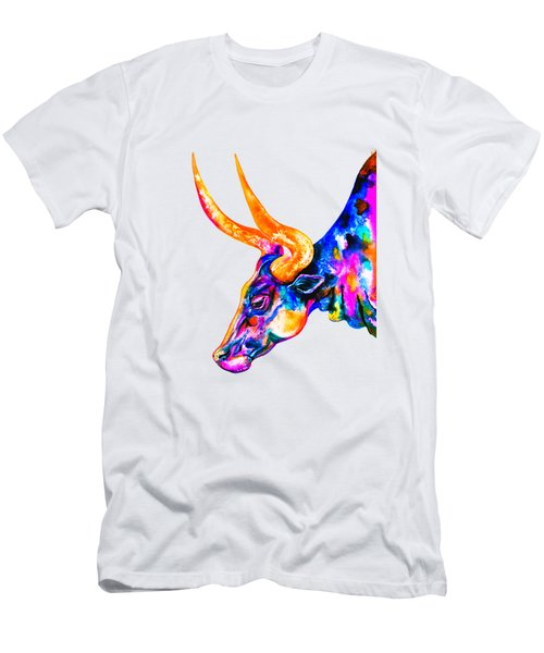 Ankole Longhorn Men's T-Shirt (Athletic Fit)