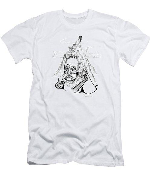 Anna Tylkina Men's T-Shirt (Slim Fit) by Yelena Tylkina