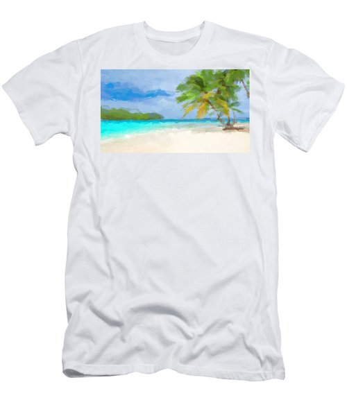 Another Day In Paradise  Men's T-Shirt (Athletic Fit)