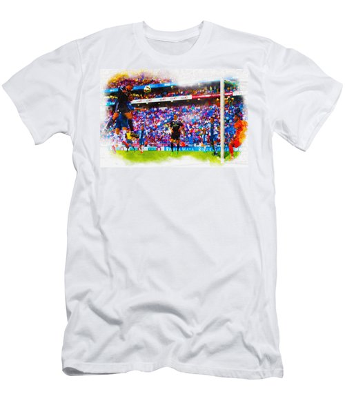 Another One Down..another One Bite The Dust Men's T-Shirt (Athletic Fit)