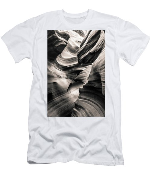 Antelope Canyon Bw Men's T-Shirt (Athletic Fit)