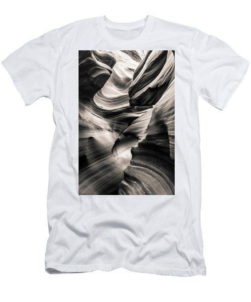 Antelope Canyon Bw Men's T-Shirt (Athletic Fit)