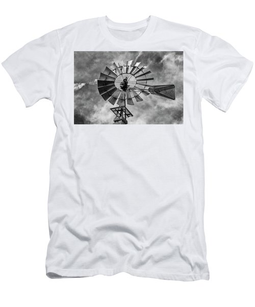 Men's T-Shirt (Slim Fit) featuring the photograph Anticipation by Stephen Stookey