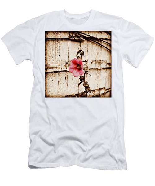 Antique Flower Men's T-Shirt (Athletic Fit)