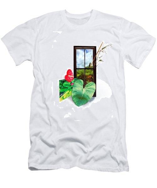 Anthurium 2 Men's T-Shirt (Athletic Fit)