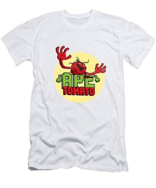 Ape Tomato Men's T-Shirt (Slim Fit) by Nicolas Palmer