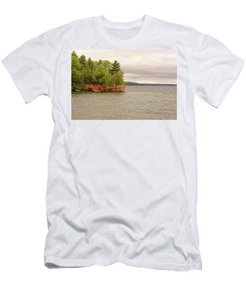 Apostle Islands Men's T-Shirt (Athletic Fit)