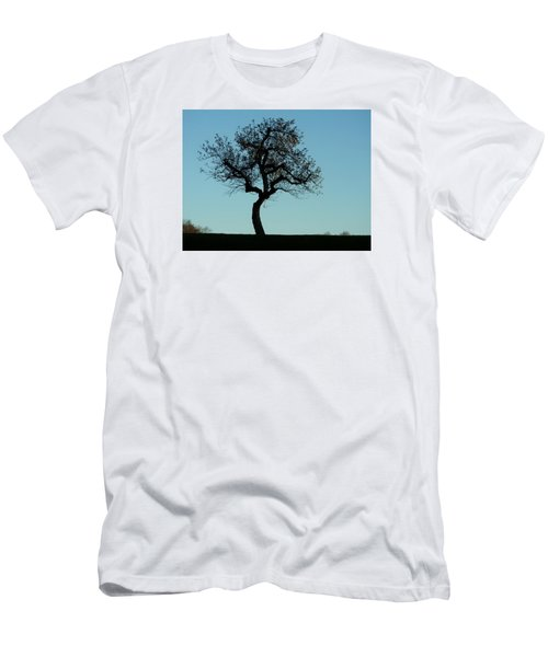 Apple Tree In November Men's T-Shirt (Athletic Fit)