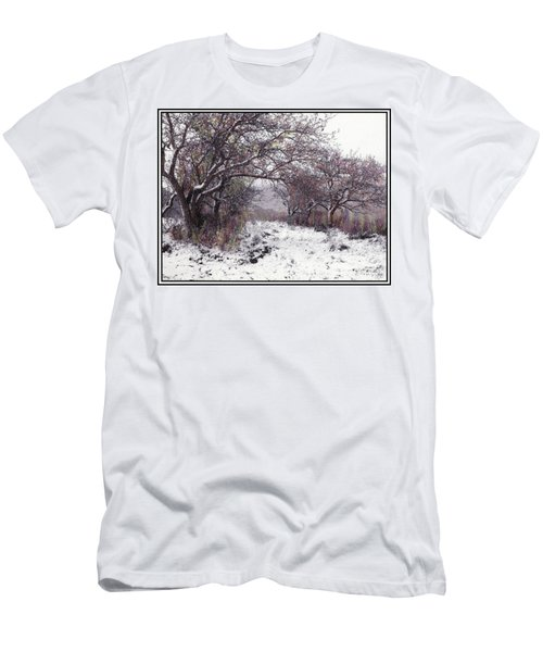 Men's T-Shirt (Athletic Fit) featuring the photograph Apples Of The Asquamchumaukee by Wayne King