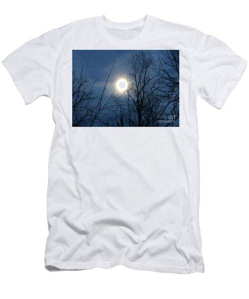 April Moonlight Men's T-Shirt (Athletic Fit)