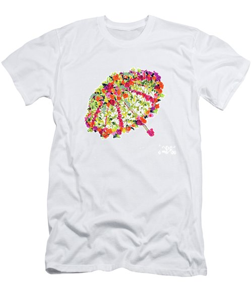 April Showers Bring May Flowers Men's T-Shirt (Athletic Fit)