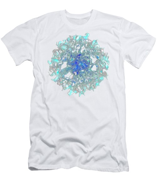 Aqua Art By Kaye Menner Men's T-Shirt (Slim Fit) by Kaye Menner