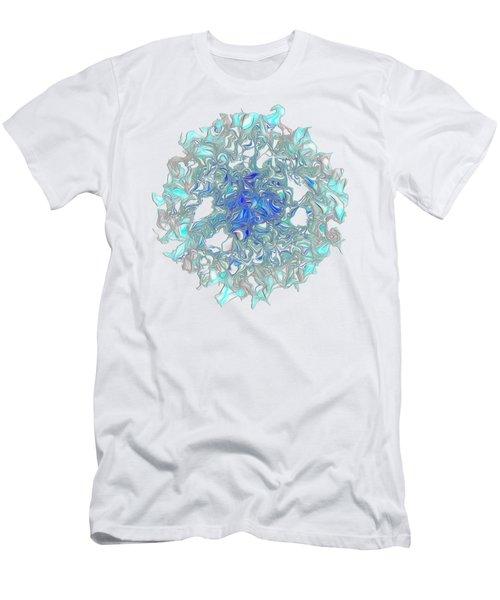 Aqua Art By Kaye Menner Men's T-Shirt (Athletic Fit)
