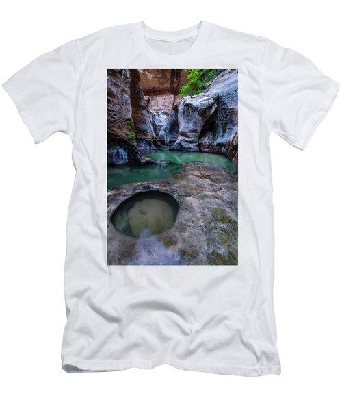 Aquamarine  Men's T-Shirt (Slim Fit) by Dustin LeFevre