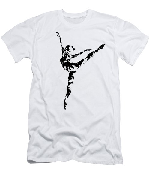 Arabesque - Transparent Background Men's T-Shirt (Athletic Fit)