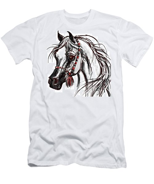 Arabian Horse Men's T-Shirt (Athletic Fit)
