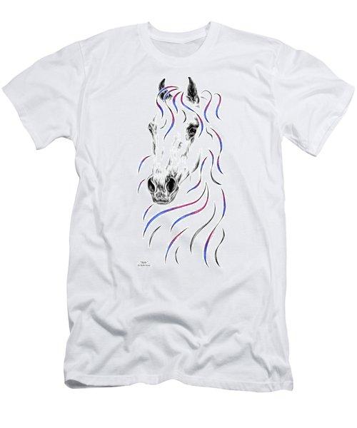 Arabian Horse Style Men's T-Shirt (Athletic Fit)